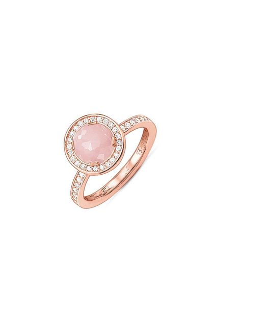 Thomas Sabo | Pink My Rings Sterling Silver Ring | Lyst