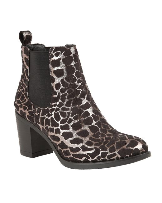 Lotus | Metallic Ennis Ankle Boots | Lyst