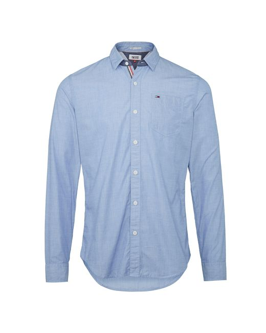 Tommy Hilfiger | Blue Original End On End Shirt for Men | Lyst