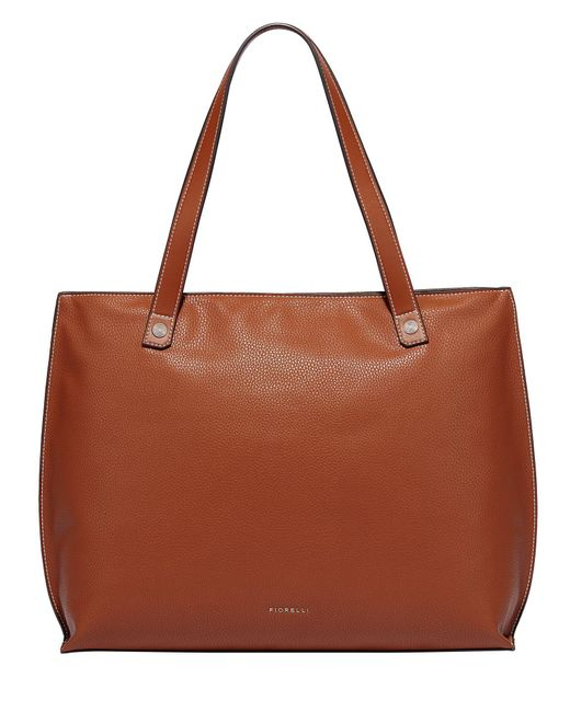 Fiorelli - Brown Hampton Large Grab Tote Bag - Lyst