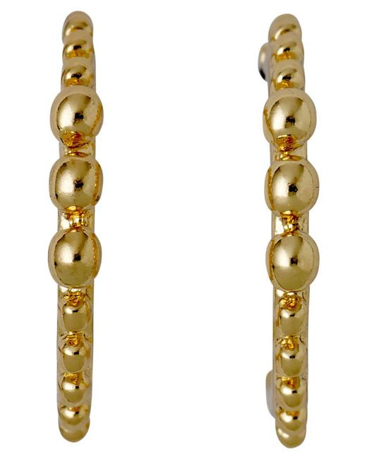 Pilgrim - Metallic Bluebell Gold Plated Earrings - Lyst