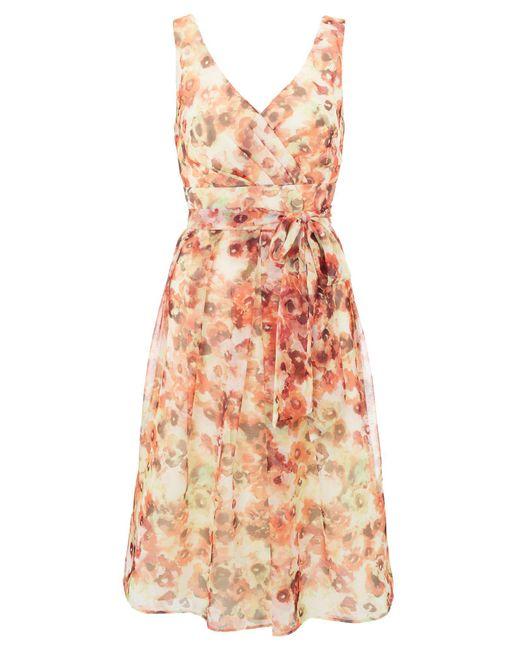 Ariella | Multicolor Zeta Chiffon Prom Dress | Lyst