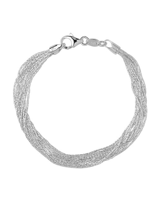 Links of London - Metallic Silk 10 Row Bracelet- Size S - Lyst