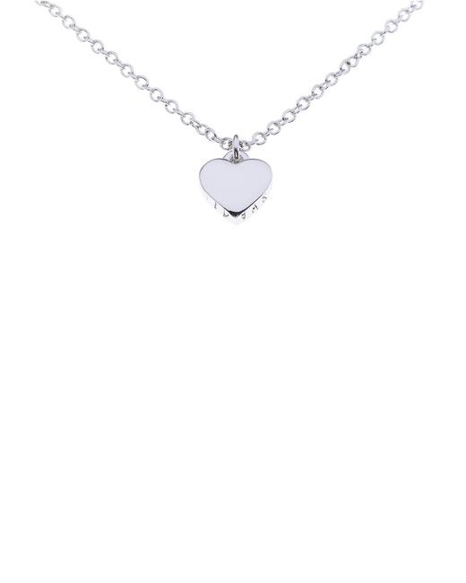 Ted Baker | Multicolor Hara Silver Tiny Heart Pendant | Lyst