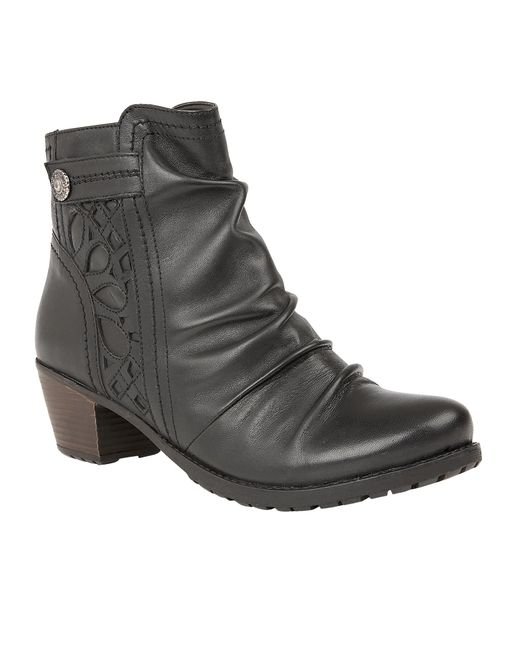 Lotus | Black Maples Ankle Boots | Lyst