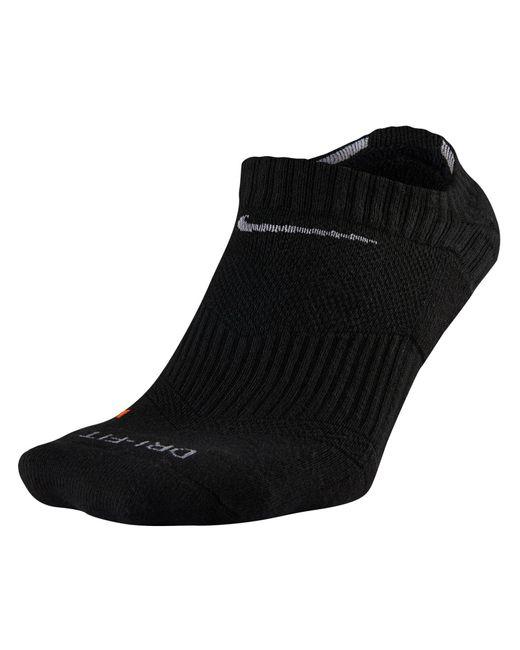 Nike - Black Dri Fit Performance No Show Socks for Men - Lyst