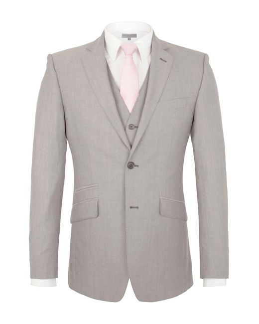 Alexandre Of England | Gray Gough Tailored Jacket for Men | Lyst