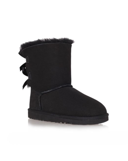 Ugg - Multicolor Mini Bailey Striped Bow-Back Boot - Lyst
