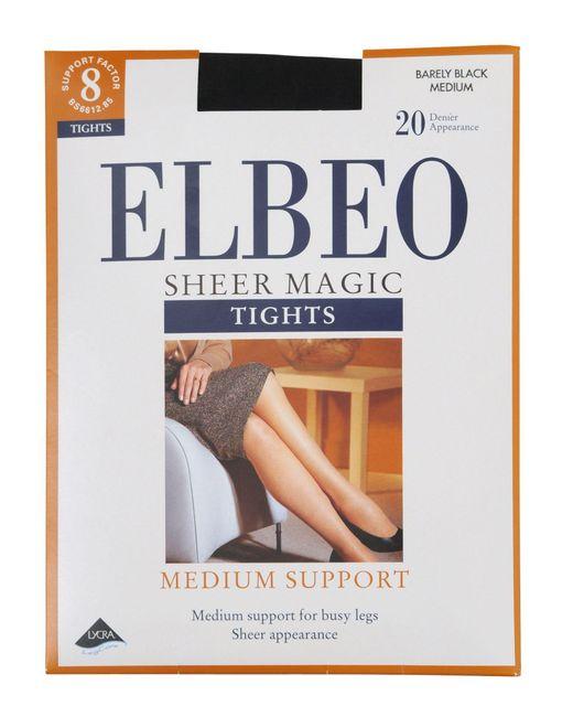 Elbeo - Black Sheer Magic Medium Support 20 Denier Sheer Tights - Lyst