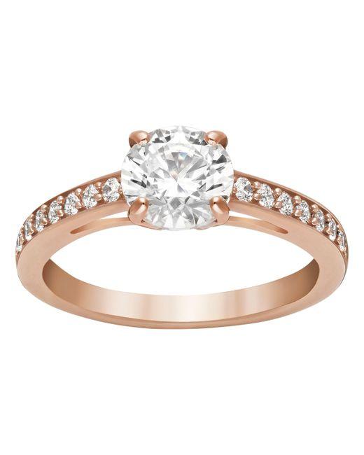 Swarovski | Pink Attract Ring | Lyst