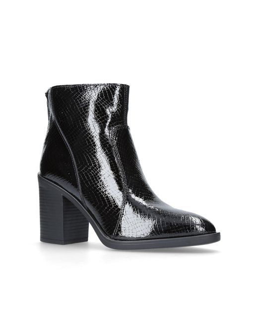 KG by Kurt Geiger - Black Sly Ankle Boots - Lyst
