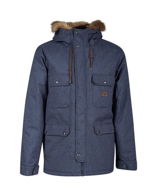 Billabong - Blue Men's Jacket for Men - Lyst