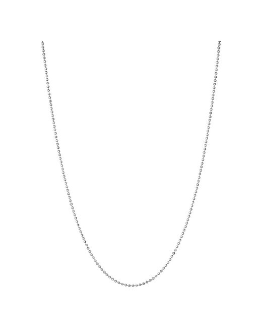 Links of London | Metallic Essentials Sterling Silver 1.5mm Ball Chain 45cm | Lyst