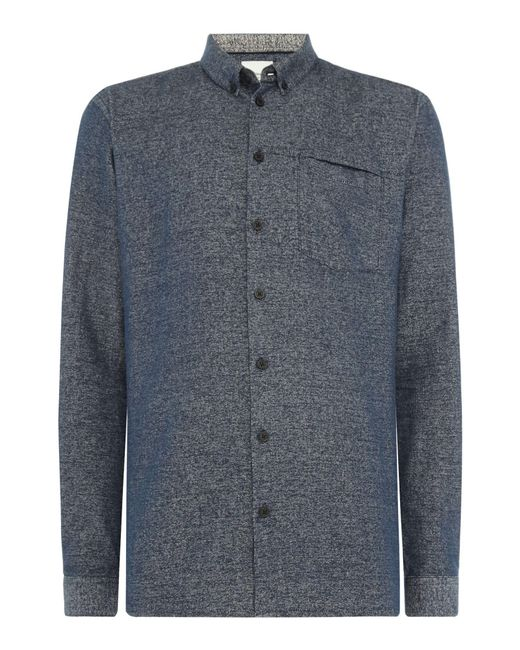 Minimum - Blue Men's Bloomfield Casual Shirt for Men - Lyst