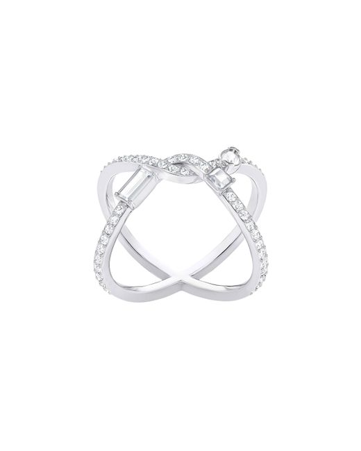 Swarovski | White Henrietta Ring Cross | Lyst