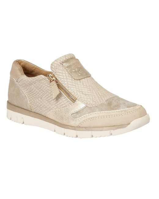 Lotus - White Relife Marigold Zip Up Shoes - Lyst