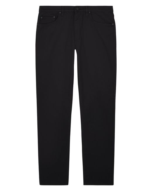 Jaeger - White Cotton Twill Modern Trousers for Men - Lyst