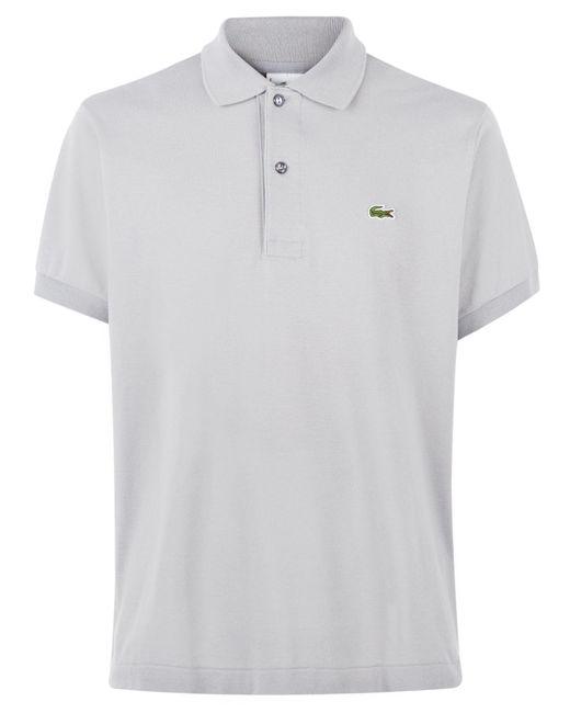 Lacoste - Gray Plain L.12.12 Original Polo for Men - Lyst