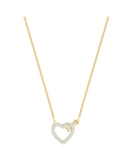 Swarovski - White Lovely Necklace - Lyst