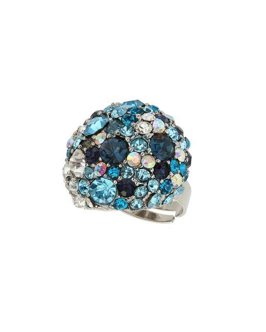 Mikey | Blue Fashion Ring | Lyst
