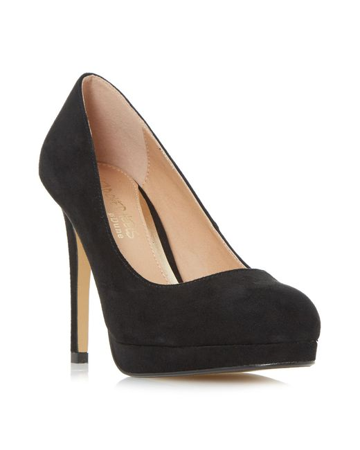 Dune | Black Ashleigh Bow Back Court Shoes | Lyst
