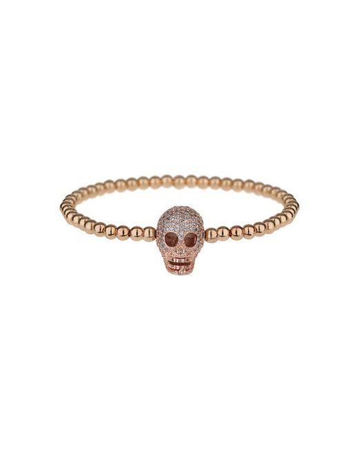 Mikey - Multicolor Fine Cubic Skull Elastic Bracelet - Lyst