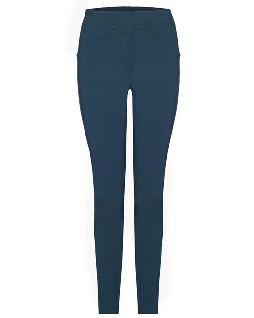 James Lakeland | Green Plain Stretch Trousers | Lyst