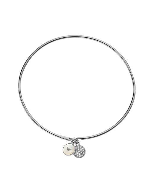 Emporio Armani | Metallic Egs2153040 Ladies Bracelet | Lyst