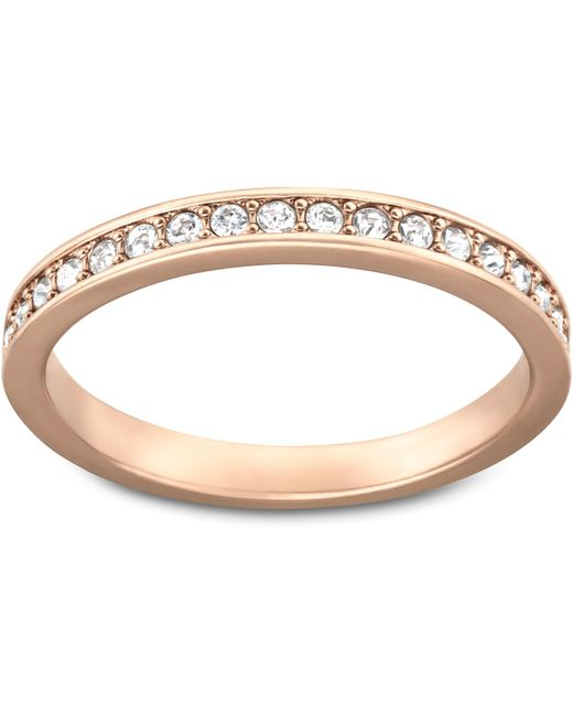 Swarovski - Pink Rare Ring - Lyst