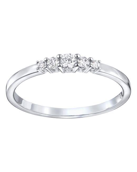 Swarovski - Metallic Frisson Ring - Lyst