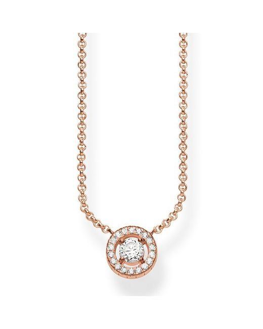 Thomas Sabo - Metallic Light Of Luna Necklace - Lyst