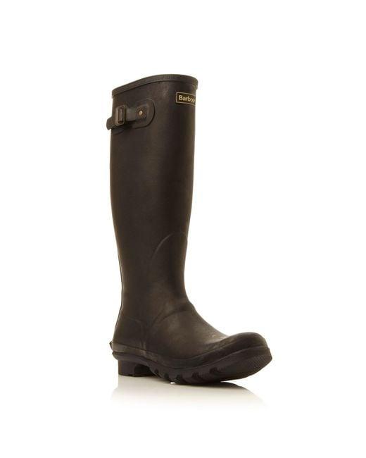 Barbour | Black Bede Wellington Boots for Men | Lyst