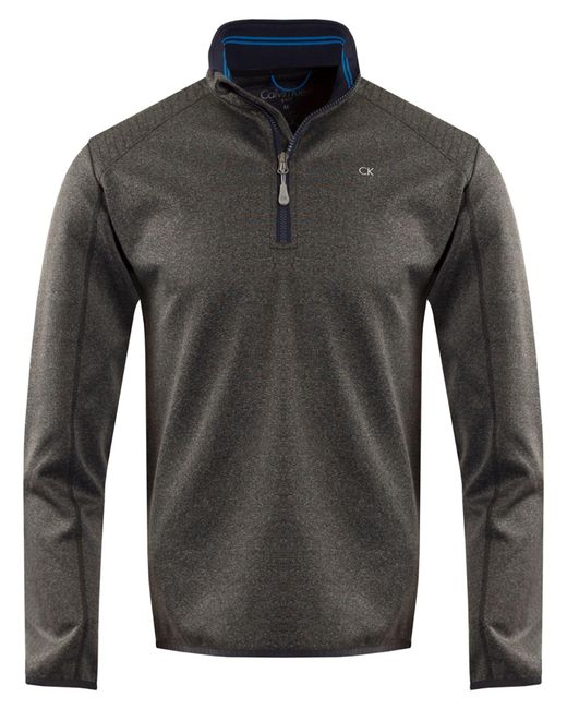 CALVIN KLEIN 205W39NYC - Gray Men's Track Half Zip for Men - Lyst