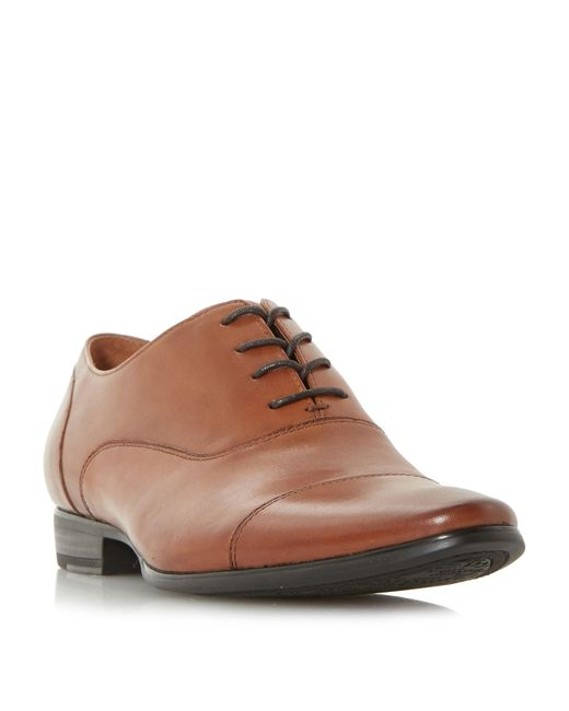Dune - Brown Plasma Formal Toecap Oxford Shoes for Men - Lyst
