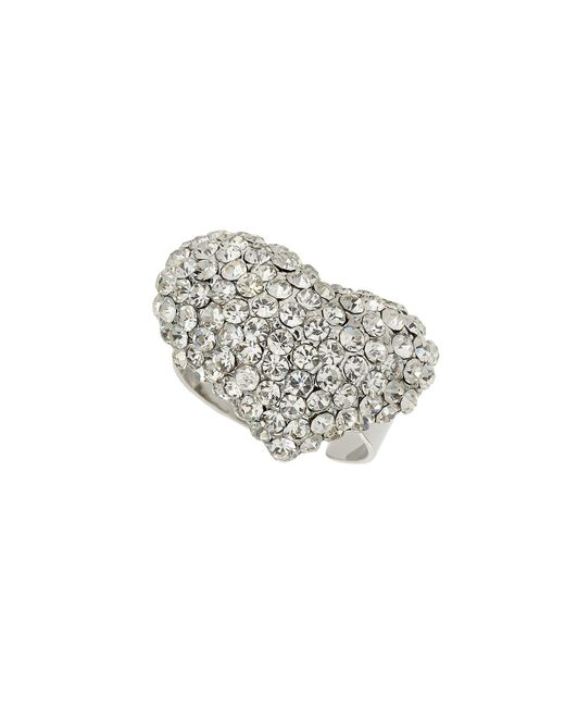 Mikey | White M Heart Ring | Lyst