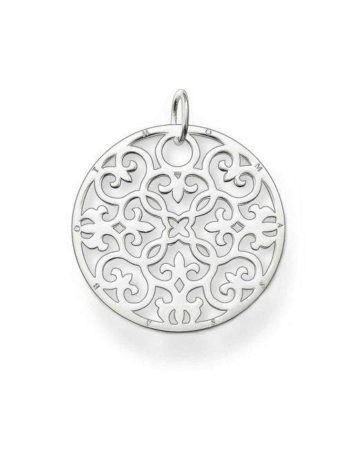 Thomas Sabo | Metallic Special Addition Large Silver Disc | Lyst