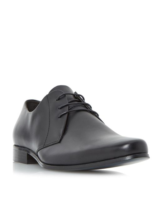 Bertie - Black Police Smart Chiseled Gibson Shoes for Men - Lyst