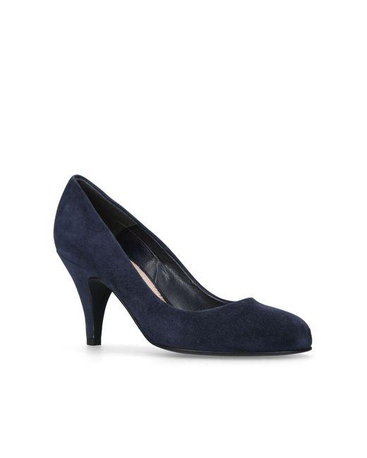 Carvela Kurt Geiger | Blue Adam2 High Heel Court Shoes | Lyst