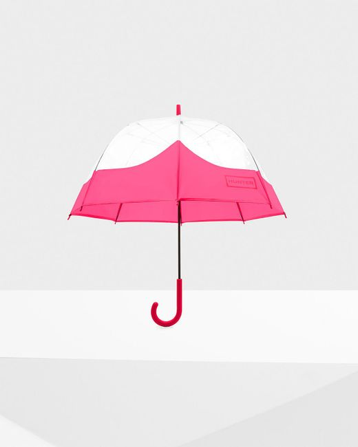 Hunter - Pink Original Moustache Bubble Umbrella - Lyst