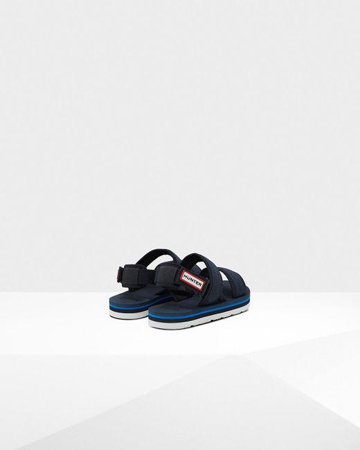 4e4317bf3 ... Hunter - Blue Original Beach Sandal for Men - Lyst ...