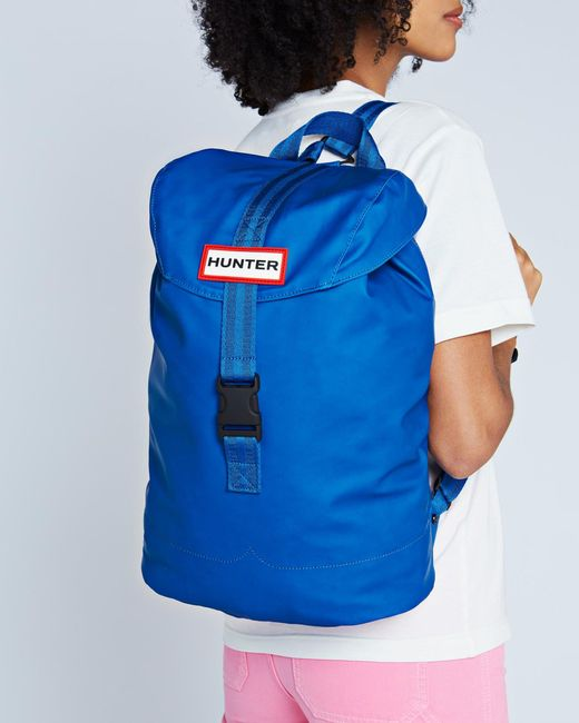 Hunter Blue Original Lightweight Rubberized Backpack