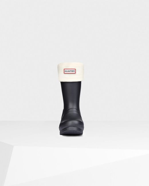 HUNTER   Natural Unisex Short Boot Socks   Lyst