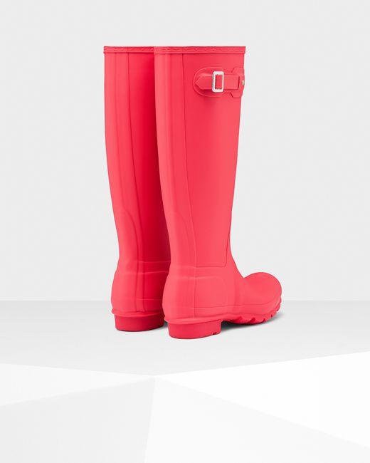 Hunter Women's Original Tall Rain Boots in Black (BRIGHT ...