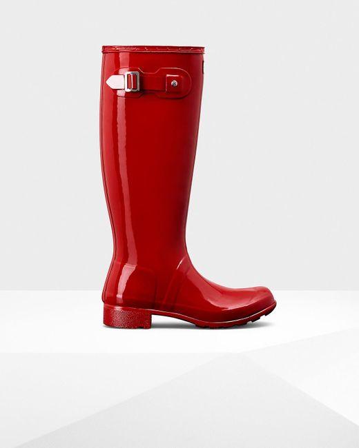 Hunter | Red Women's Original Short Wellies | Lyst
