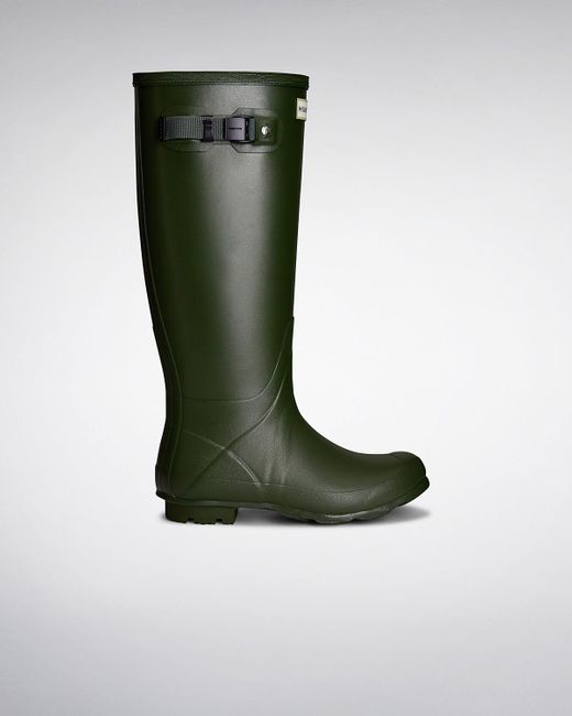 Hunter | Green Women's Norris Field Neoprene Lined Rain Boots | Lyst