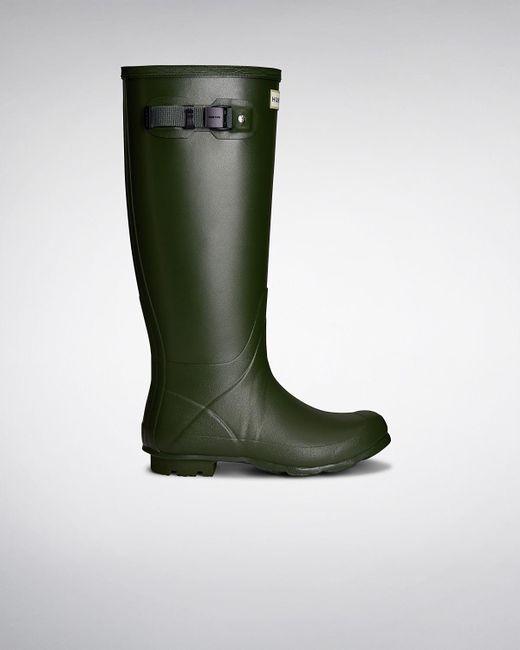 Hunter - Green Women's Norris Field Neoprene Lined Wellington Boots - Lyst