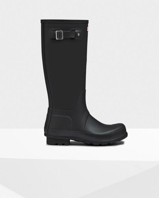 Hunter | Black Men's Original Tall Rain Boots for Men | Lyst