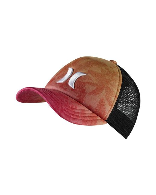 Hurley - Colin Trucker Adjustable Hat (red) - Clearance Sale for Men - Lyst b935f1e5728d