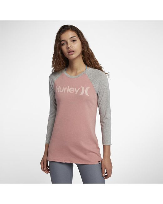 Hurley - Multicolor One And Only Perfect Raglan - Lyst