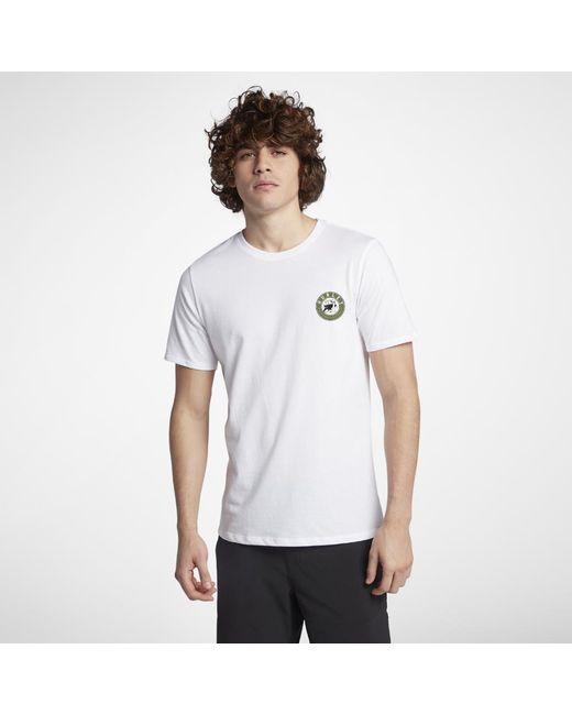 Hurley - White Prowler Dri-fit T-shirt for Men - Lyst